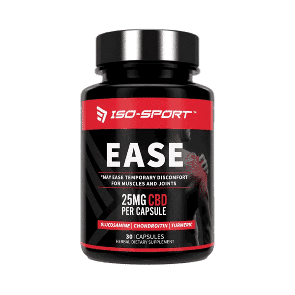 Ease Pain Relief CBD Capsules 750mg | Iso-Sport