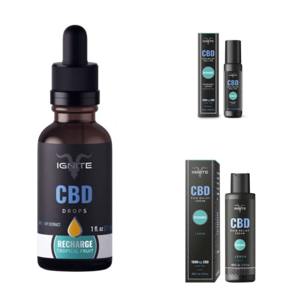 Topical & Tincture Beginners CBD Bundle