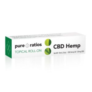Topical CBD Roll On 120mg | Pure Ratios CBD 1