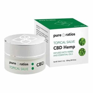 Topical CBD Salve 300mg | Pure Ratios CBD