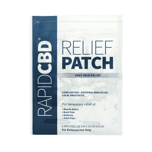 Rapid Relief CBD Patch 2 Pack | 50mg