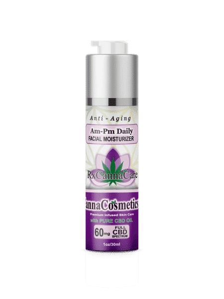 Am-Pm Daily CBD Facial Moisturizer 60mg | RxCannaCare
