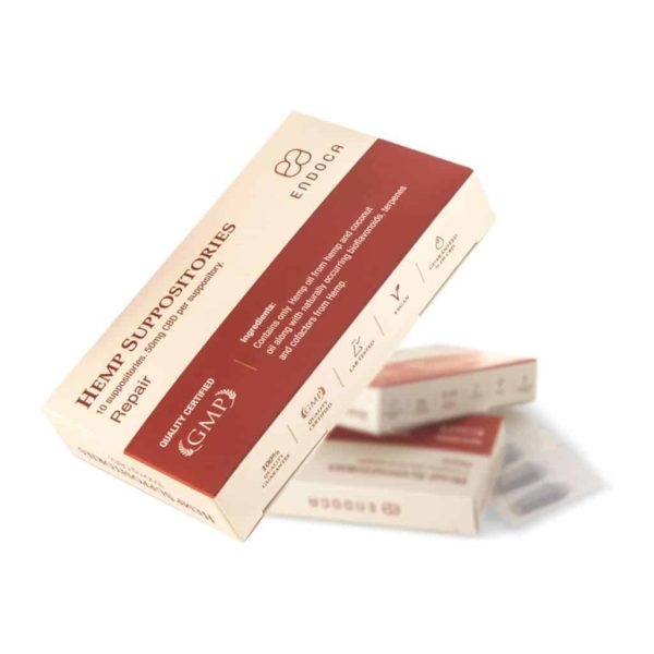 Endoca CBD Suppositories 500mg