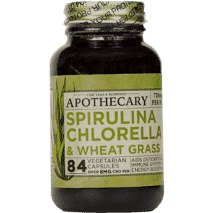 Super Greens CBD Capsules | The Brothers Apothecary