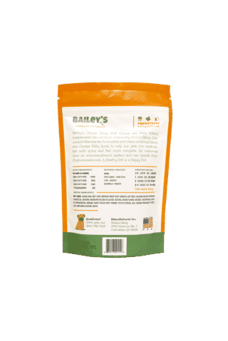 Image of Omega Hemp CBD Soft Chews- Bacon Flavored | Bailey's CBD | The Mass Apothecary