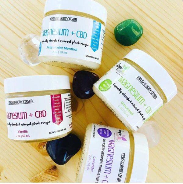 Magnesium + Full Spectrum Hemp Cream | Dope Minerals