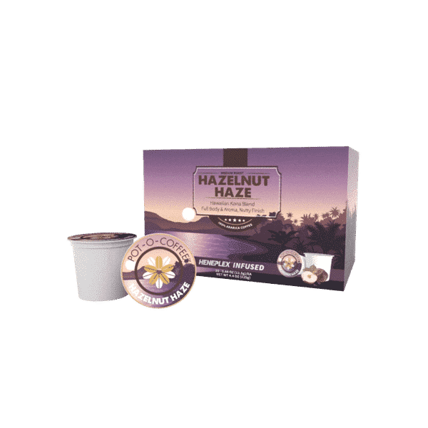 Hazelnut Haze CBD K-Cups | Pot-O-Coffee