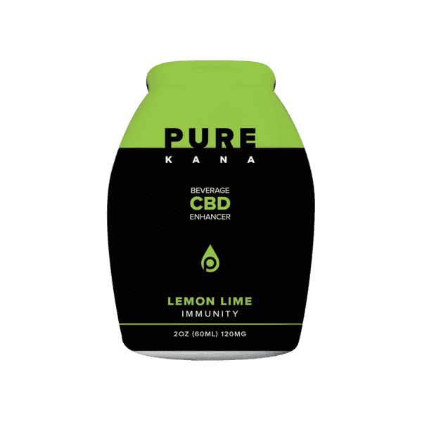 CBD Beverage Enhancer Lemon Lime - Immunity | PureKana CBD