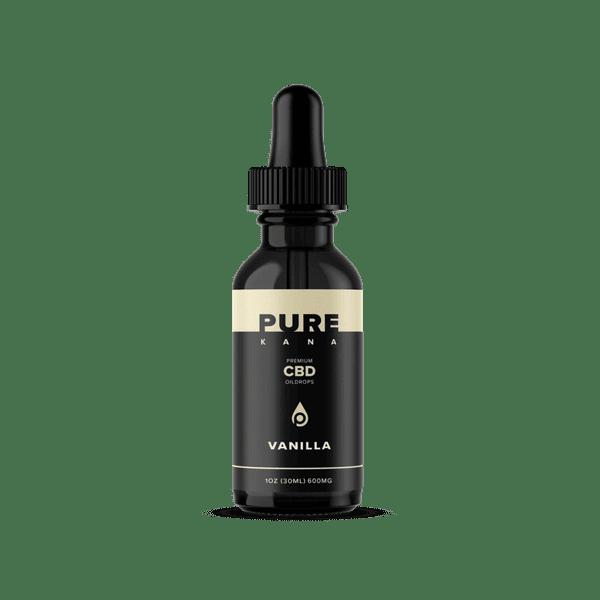 PureKana Vanilla CBD Oil Tincture