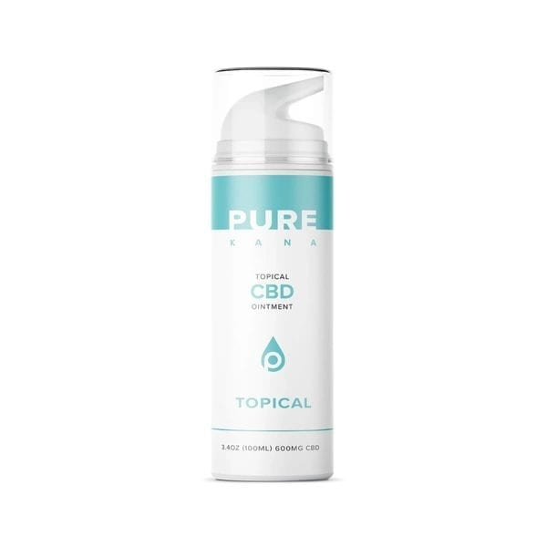 Topical CBD Ointment Menthol 600mg | PureKana CBD