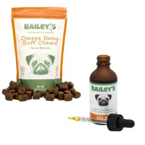 Healthy Dog CBD Bundle Bailey's CBD