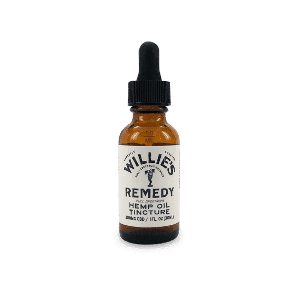 Willie's Remedy CBD Oil Tincture 300mg