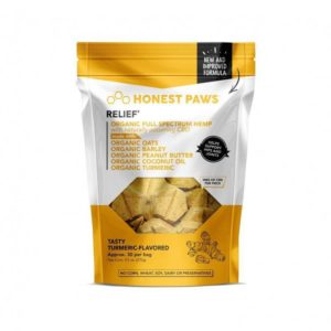 Honest Paws Relief CBD Bites Tasty Turmeric