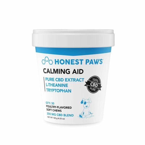 Honest Paws Pet CBD Calming Aid Soft Chews