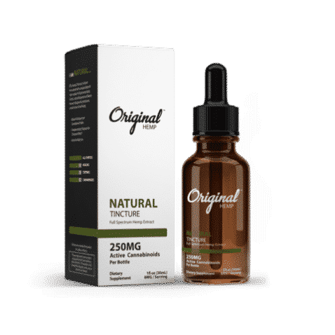 Natural CBD Oil Tincture | Original Hemp