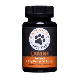 Canine CBD Softgels | Panacea Life Sciences