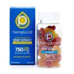 Whole Plant Vegan Full Spectrum CBD Gummies by Hemplucid   Photo of 30 Count Bottle CBD Gummy Bears