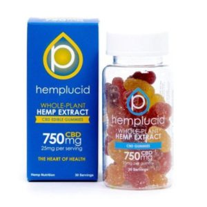 Whole Plant Full Spectrum CBD Gummies by Hemplucid