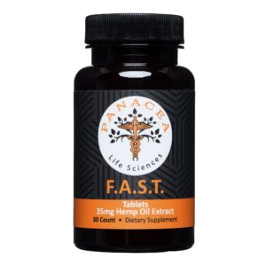 F.A.S.T. 35mg Hemp Oil CBD Tablets | Panacea Life Sciences