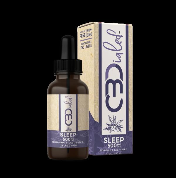Sleep CBD Target Tincture 500mg CBDialed