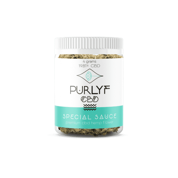Special Sauce CBD Flower 4 Grams | Purlyf CBD 2