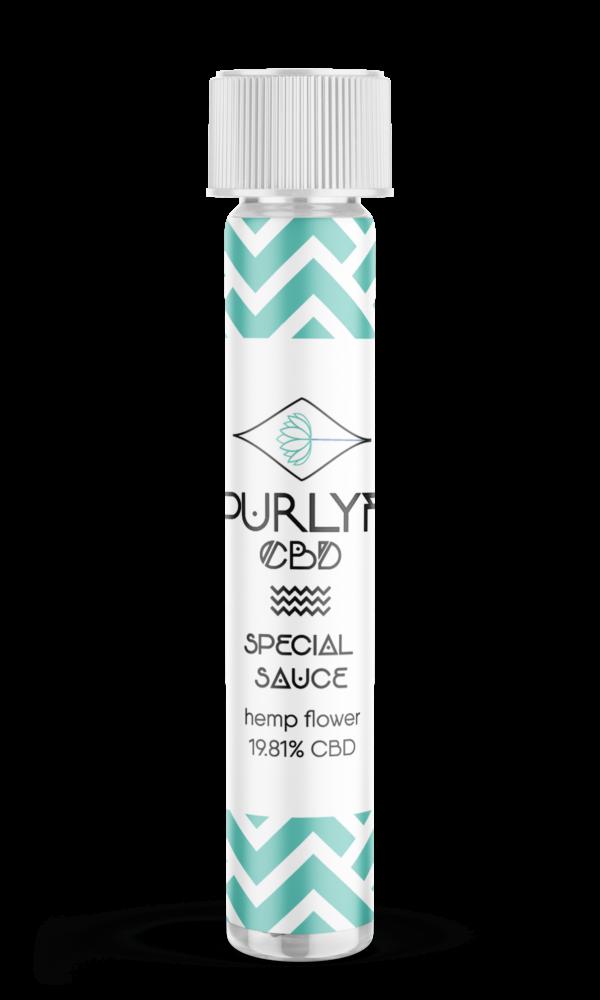 Special Sauce CBD Flower Pre Roll 1.3 gram | Purlyf CBD