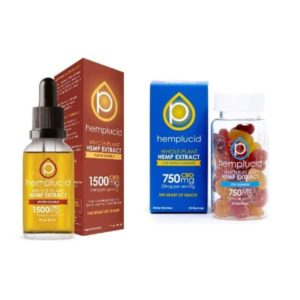 Hemplucid Oil and Gummy CBD Bundle