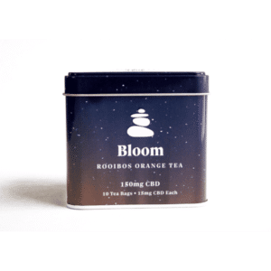 Bloom Rooibos Orange CBD Tea | Lagom Teas