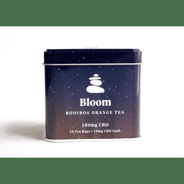 Bloom Rooibos Orange CBD Tea | Lagom Teas