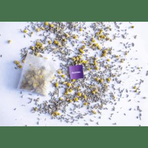 Bedtime Lavender Chamomile CBD Tea   Lagom Teas