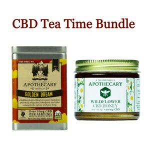 CBD Tea Time Bundle - CBD Honey and Tea Lot