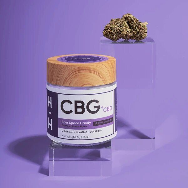 CBG+CBD Sour Space Candy Flower
