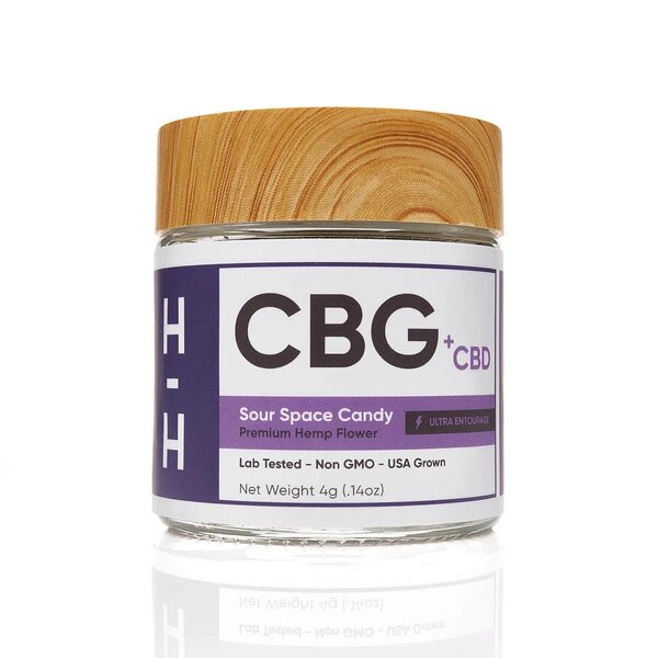 CBG+CBD Sour Space Candy Flower