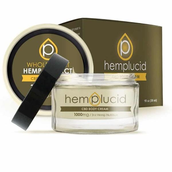 Hemplucid Full-Spectrum CBD Vegan Body Cream
