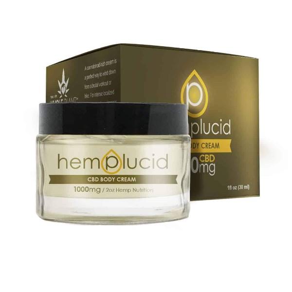 Hemplucid Full-Spectrum CBD Body Cream