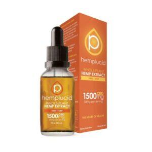 Hemplucid Full Spectrum CBD Vegan Vape Oil Tincture