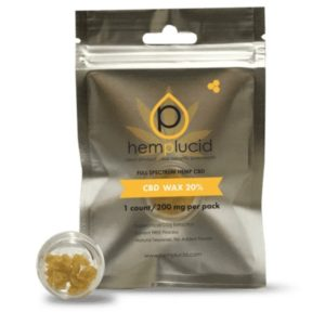Hemplucid Full Spectrum CBD Wax Concentrate
