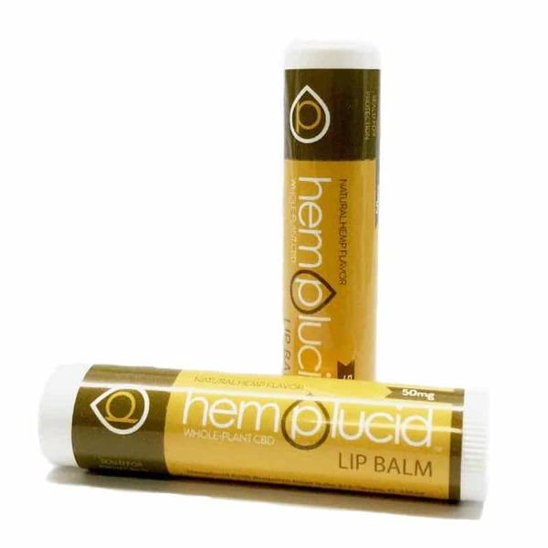 Hemplucid Vegan Full-Spectrum CBD Lip Balm