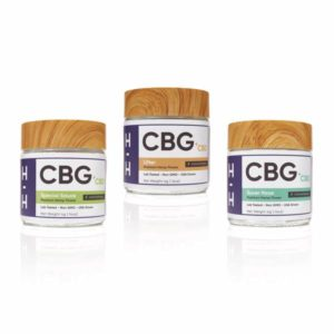 CBG and CBD Flower 3 Jar Lot 1