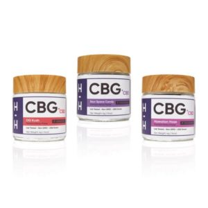 CBG and CBD Flower 3 Jar Lot 2