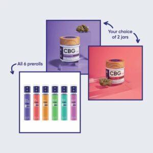 CBG and CBD Flower Starter Bundle