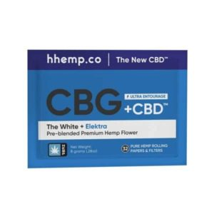 Elektra and The White CBG+CBD 8 Gram Pre-blended Pouch