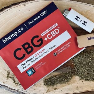 OG Kush and The White CBG+CBD 8 Gram Pre-blended Pouch