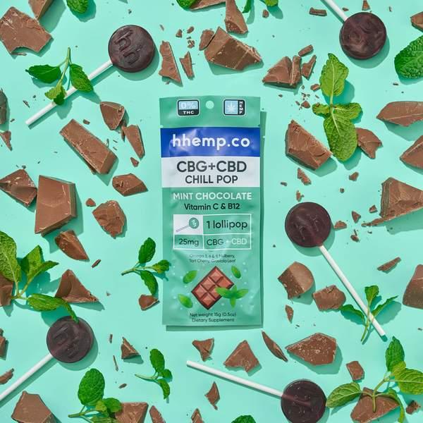 Image of CBG+CBD Lollipop Variety Bundle (3 Pack) | The Mass Apothecary