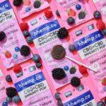 CBG+CBD Immunity Lollipop - Mixed Berry - Decorative