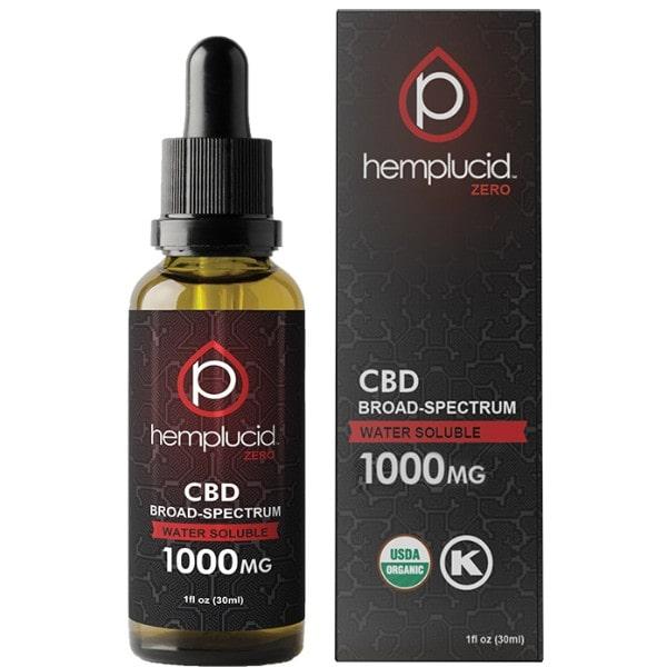 Hemplucid Broad Spectrum Whole Plant CBD Oil 1000mg