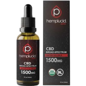 Hemplucid Water Soluble Broad Spectrum CBD Oil 1500mg