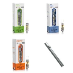 CBD Vape Carts Starter Kit With Free Battery