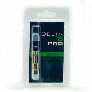 Green Crack Delta 8 THC Vape Cartridge - 1ML D8 Cart