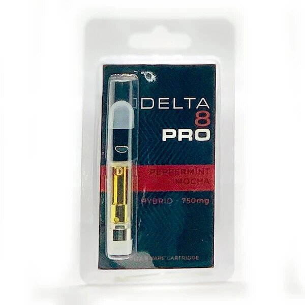 Peppermint Mocha Delta 8 THC Vape Cartridge - 1ML D8 Cart